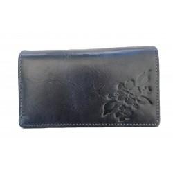 Dámská peněženka blue flower