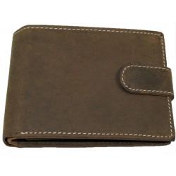 Kožená peněženka broušená