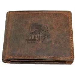 Hunters kožená peněženka medvěd