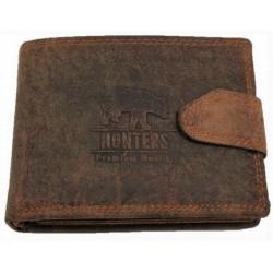 Hunters kožená peněženka bear