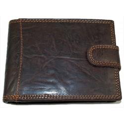 Kožená peněženka leštěná