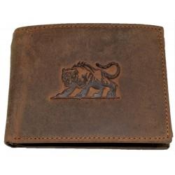 Kožená peněženka tygr brown