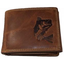 Kožená peněženka okoun
