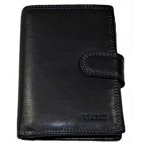 Pragati kožená peněženka černá