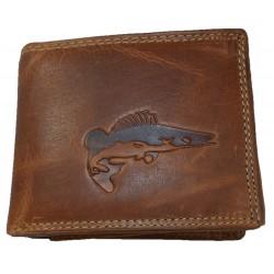 Kožená peněženka candát