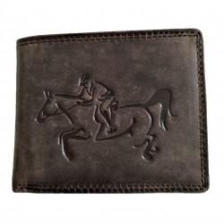 Kožená peněženka kůň