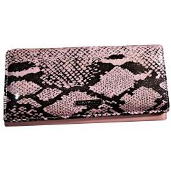 Dámská lakováná peněženka růžová