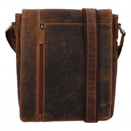 Větší pánská kožená taška